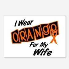 I Wear Orange For My Wife 8 Postcards (Package of