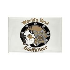 Top Dog Godfather Rectangle Magnet (10 pack)