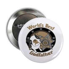 "Top Dog Godfather 2.25"" Button"