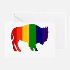 Buffalo Pride Greeting Card