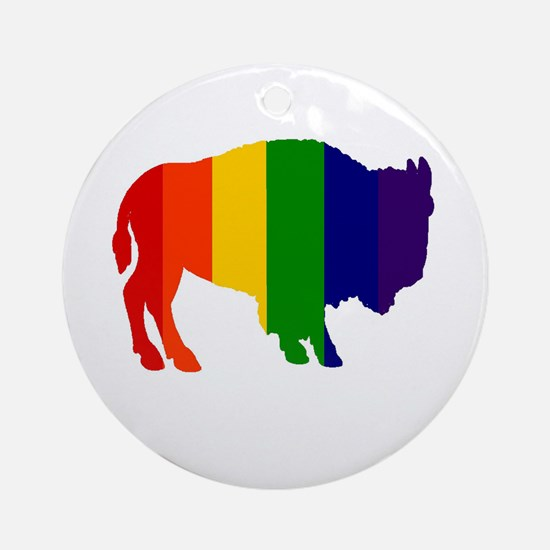 Buffalo Pride Ornament (Round)