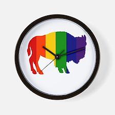 Buffalo Pride Wall Clock