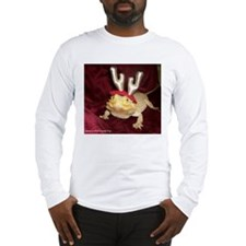 Reindeer Beardie Long Sleeve T-Shirt