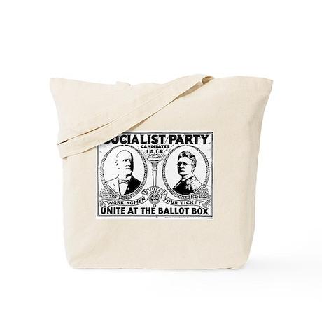 Vintage Eugene Debs Campaign Poster Tote Bag