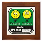 It's That Simple! Framed Tile