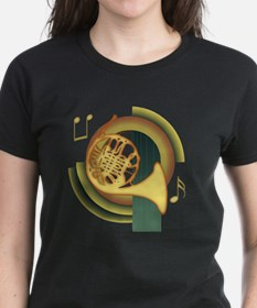 French Horn Deco Tee