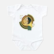 French Horn Deco Infant Bodysuit