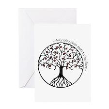 Adoption Roots Greeting Card
