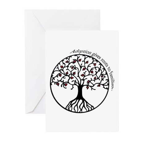 Adoption Roots Greeting Cards (Pk of 10)
