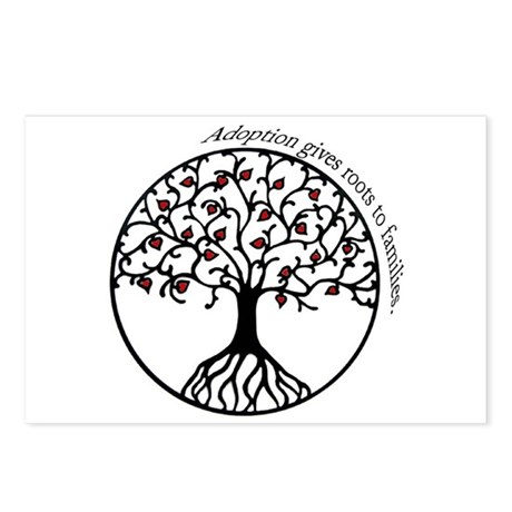 Adoption Roots Postcards (Package of 8)