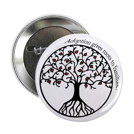 """Adoption Roots 2.25"""" Button (100 pack)"""
