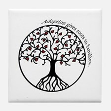 Adoption Roots Tile Coaster