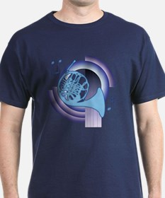 French Horn Deco2 T-Shirt