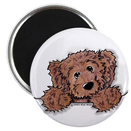 """Choc. Doodle Pocket Pup 2.25"""" Magnet (10 pack)"""