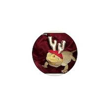 Reindeer Beardie 2 Mini Button