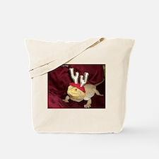 Reindeer Beardie 2 Tote Bag