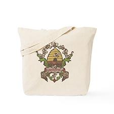 Beekeeper Crest Tote Bag