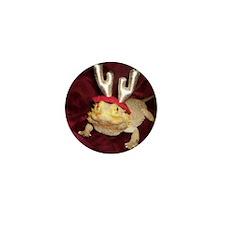 Reindeer Beardie Mini Button