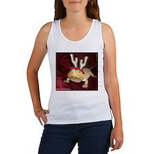 Reindeer Beardie Women's Tank Top