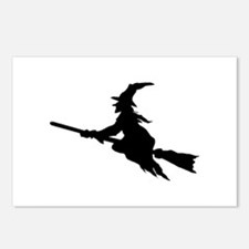 FLYING WITCHES Postcards (Package of 8)