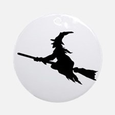 FLYING WITCHES Ornament (Round)