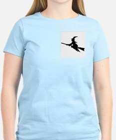 FLYING WITCHES Women's Pink T-Shirt