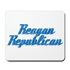 Reagan Republican (blue) Mousepad