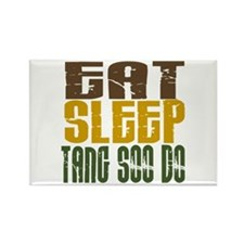 Eat Sleep Tang Soo Do Rectangle Magnet
