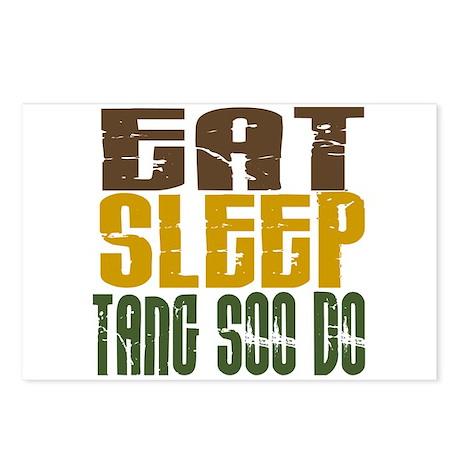 Eat Sleep Tang Soo Do Postcards (Package of 8)