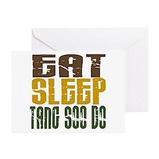 Eat Sleep Tang Soo Do Greeting Cards (Pk of 10)
