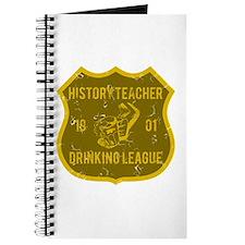 History Teacher Drinking League Journal