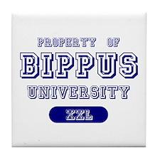 Property of Bippus University Tile Coaster