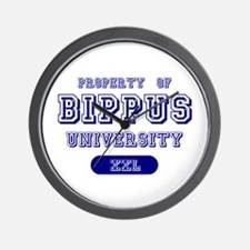Property of Bippus University Wall Clock