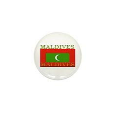 Maldives Mini Button (10 pack)