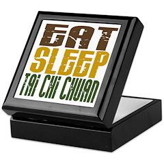 Eat Sleep Tai Chi Chuan Keepsake Box