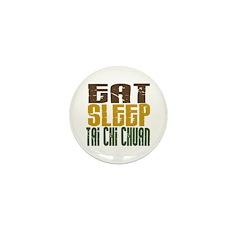 Eat Sleep Tai Chi Chuan Mini Button (10 pack)