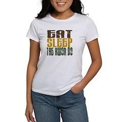 Eat Sleep Tae Kwon Do Women's T-Shirt