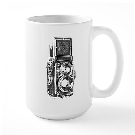 Twin Lens camera Large Mug