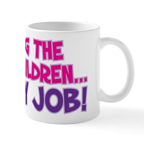SPOILING THE GRANDCHILDREN... Mug