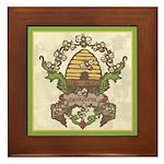 Beekeeper Crest Framed Tile