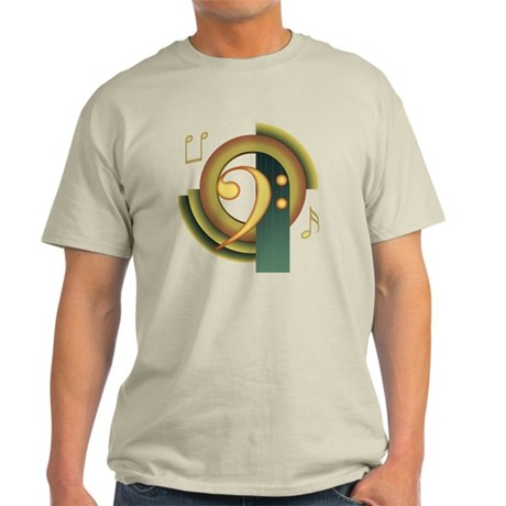 Bass Clef Deco Light T-Shirt