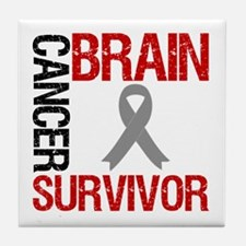 BrainCancerSurvivor Tile Coaster