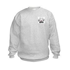 PAW PRINTS Sweatshirt