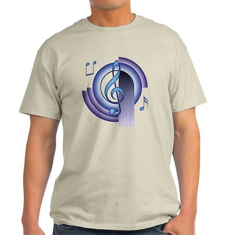 Treble Clef Deco2 Light T-Shirt