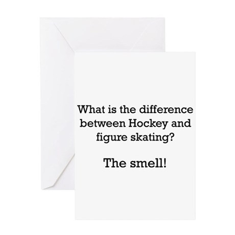The Smell-black Greeting Card