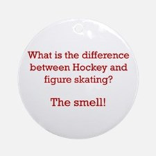 The Smell-red Ornament (Round)