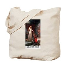 "Edmund Blair Leighton's ""The Accolade"" Tote Bag"