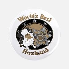 "Top Dog Husband 3.5"" Button"
