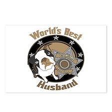 Top Dog Husband Postcards (Package of 8)