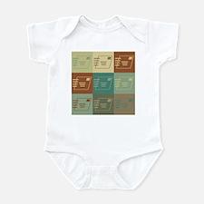 Postal Service Pop Art Infant Bodysuit